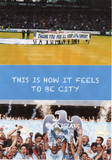 Cover of this is how it feels to be City - Manchester City Book