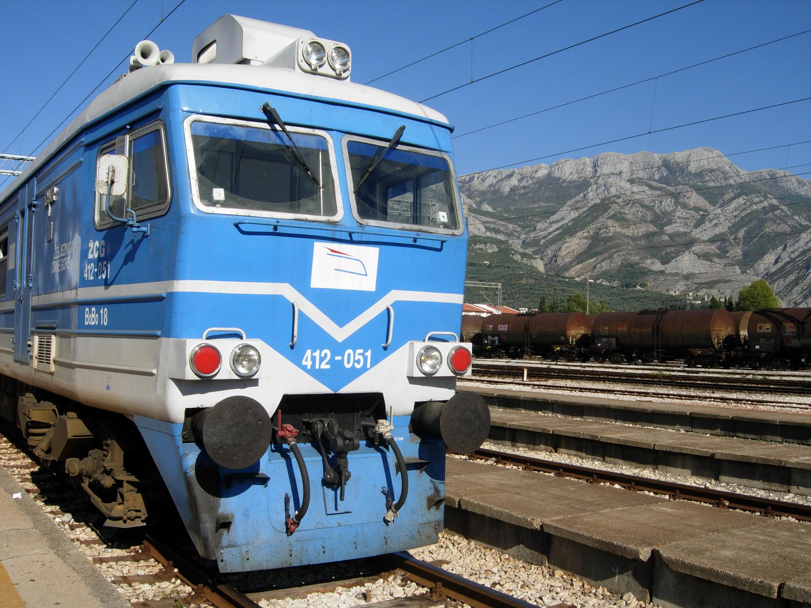 Bar Station Montenegro